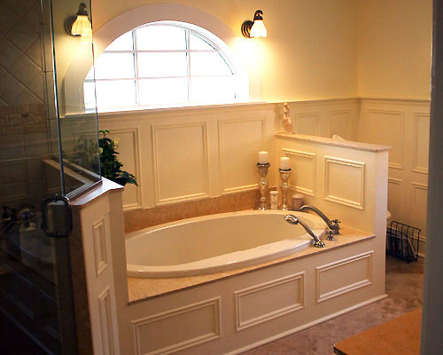 Custom Master Bathrooms custom master colonial bathroom with heated floors and jacuzzi tub