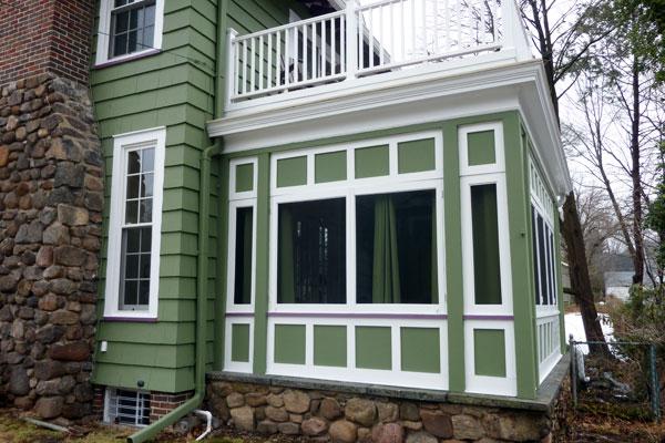 Roof Deck Sun Room Addition Xcelrenovation