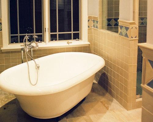 Modern Bathroom With Clawfoot Tub Xcelrenovation