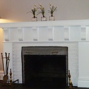 Custom Fireplace Mantel Work