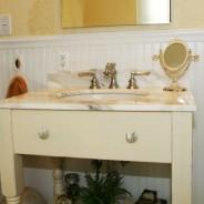 Custom Bathroom with Frameless Shower