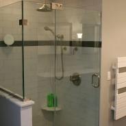 Bathroom Remodel with Glass Door
