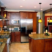 Art & Craft Kitchen with Custom Tiles
