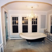 Victorian Bathroom with Clawfoot Tub