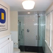 Master Bathroom with Double Vanity and Large Shower