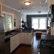 Modern Kitchen with Corner Counter