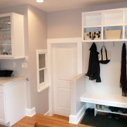 Custom Bench, Built-In, Cubbies and Mud Room